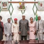 Gov. Seyi Makinde Swore In A New Set Of Permanent Secretaries To The Civil Service Of Oyo State.